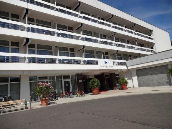 Hotel Müggelsee Berlin: Hoteleingang