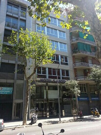 Hotel Sant Antoni: vista esterna