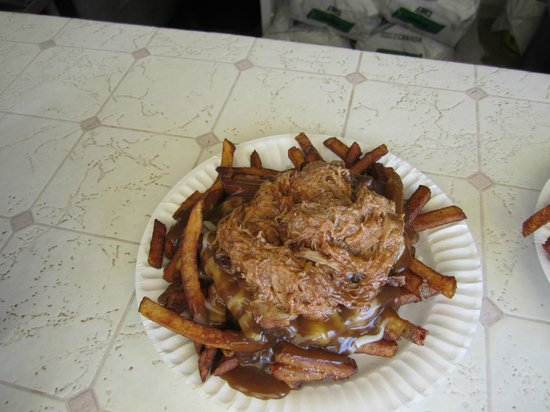 The Chip Shack : Pountine - so delicious - best i have ever eaten!!
