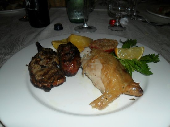 Hotel Santacroce Meeting: ottima cucina