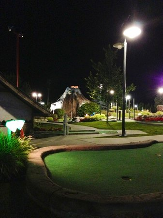 Triple Play Resort Hotel & Suites: Outdoor Miniature Golf Area