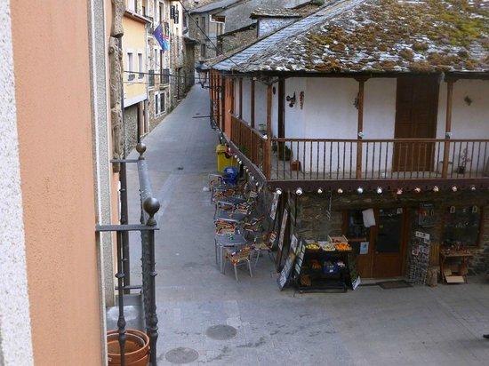 Hostal Rural El Palacio Molinaseca: Vista desde la habitación