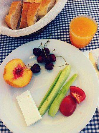Serinn House: breakfast