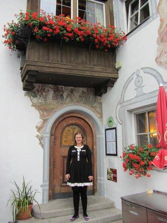Kellerwirt: Entrance to the restaurant