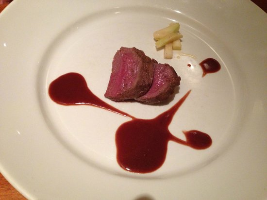 The Ambrette Margate : Loin of Venison