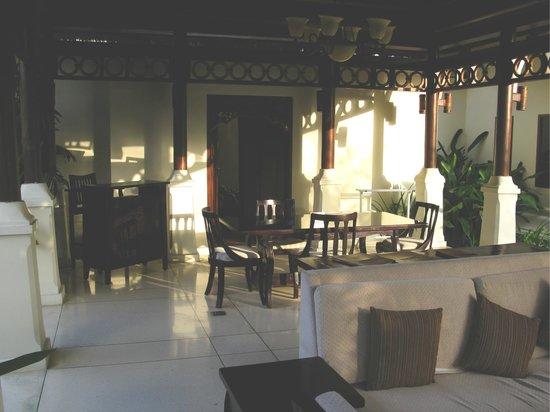 Pat-Mase, Villas at Jimbaran: zona pranzo