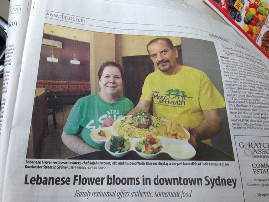 Lebanese Flower : Owners