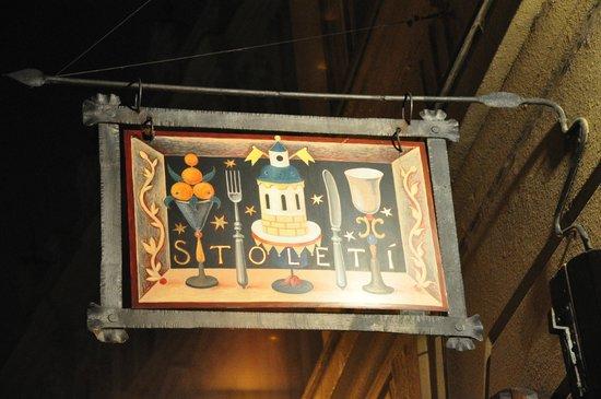 Restaurace Stoleti : L'enseigne