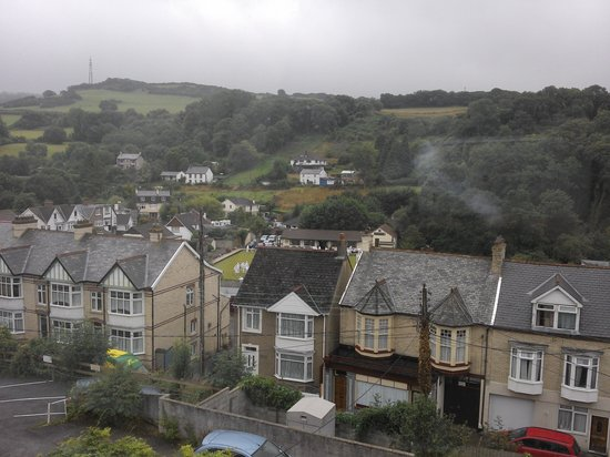Saffron House Hotel: view from room 6