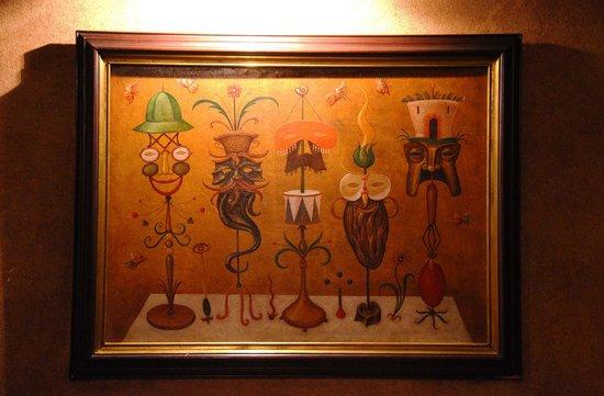 Restaurace Stoleti : Décoration originale