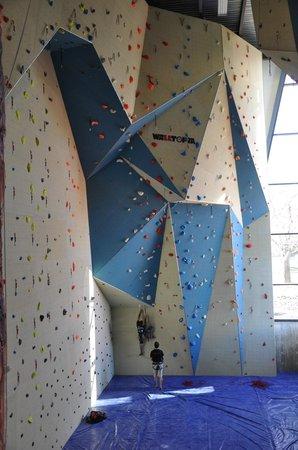 Altitude Gym : Le Walltopia de l'Annexe (45 pieds)