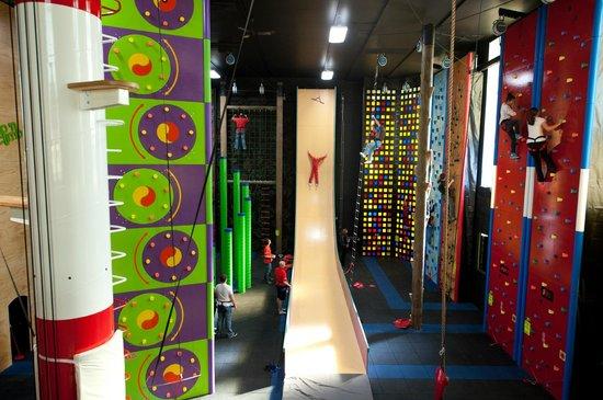 Altitude Gym : La section Clip 'N Climb