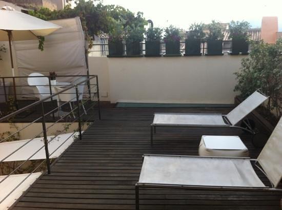 Hotel Cas Ferrer Nou Hotelet: Terrasse commune