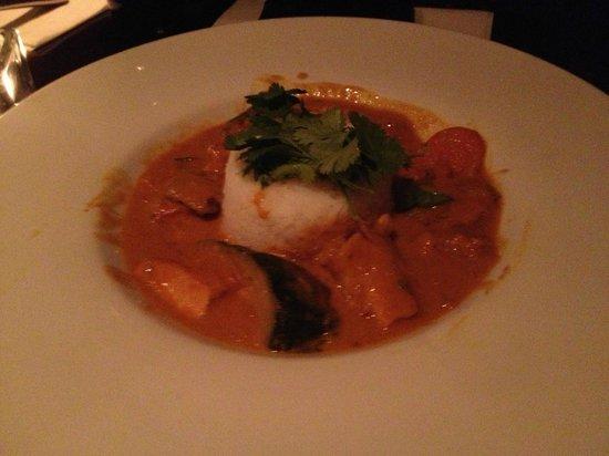 L'Epouvantail: Poulet curry au lait de coco thaï
