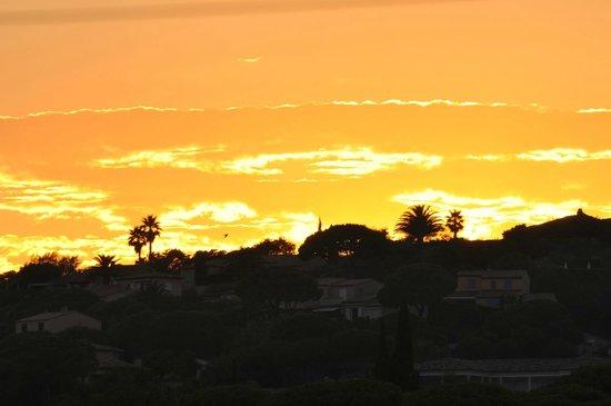Barco Beach Restaurant: sunset