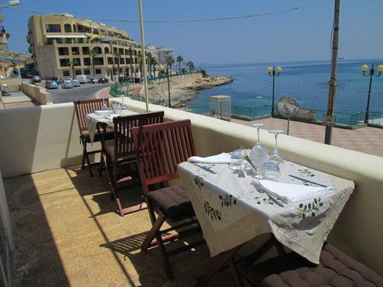Fellini Italian Restaurant : Sea view Terrace