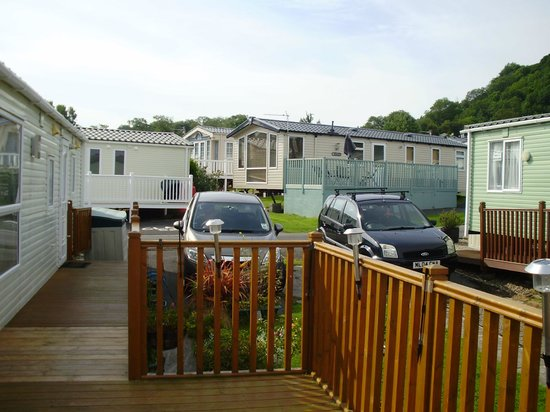 the view of new quay picture of quay west holiday park. Black Bedroom Furniture Sets. Home Design Ideas
