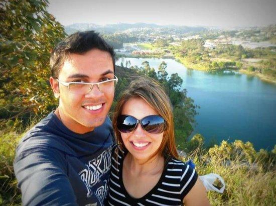 Parque do Lago Francisco Rizzo: Vista do monte