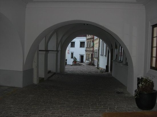 Hotel Aplaus : Entrance to hotel