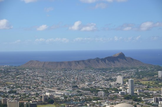 Aloha Private Tours : Looking at Diamond Head