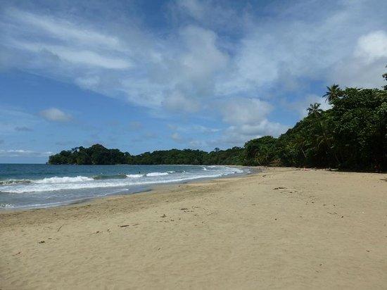 Cabinas Punta Uva: la playa a unos metros de las cabinas