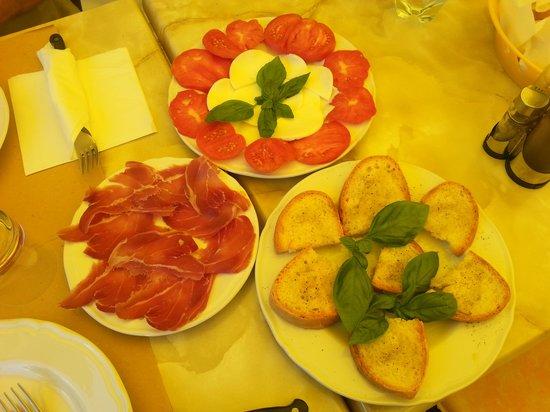 Antico Borgo il Cardino: bruschette ed altro