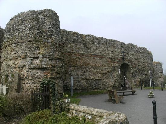 Pevensey Castle: château de Pevensey
