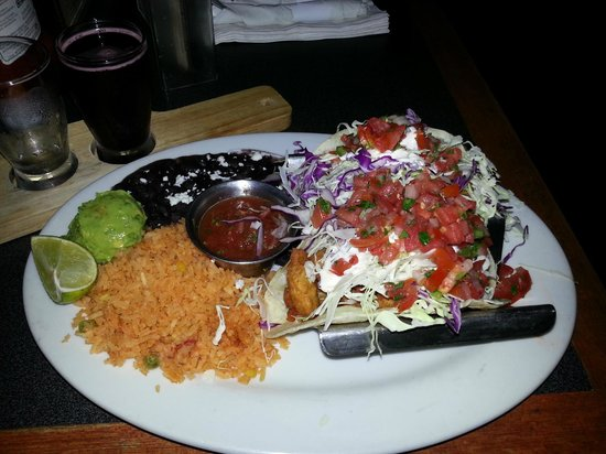 Fish tacos - Manhattan Beach Brewing Company
