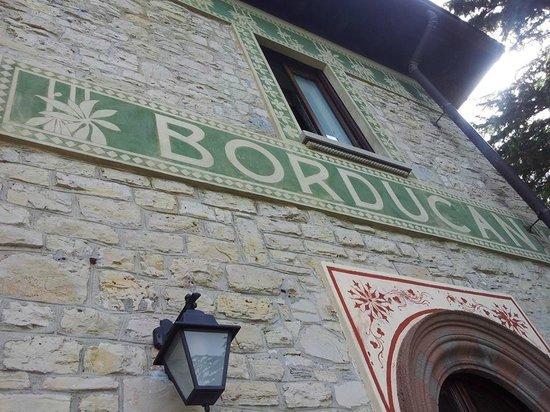 Hotel Al Borducan: decorazione esterna