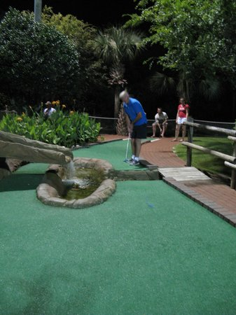 Pirate's Island Adventure Golf: the advanced course