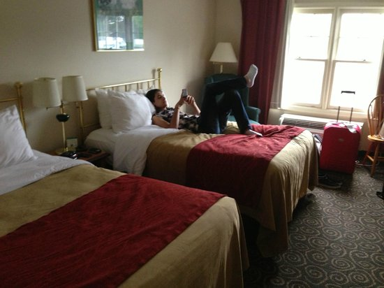 Comfort Inn: camera con 2 matrimoniali