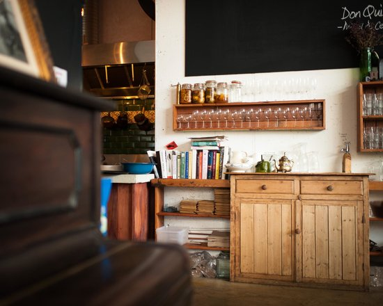 The Fumbally: Open kitchen, I love seeing whats happening behind the scene