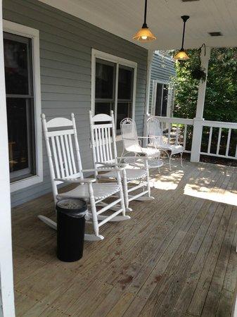 Comfort Inn: portico