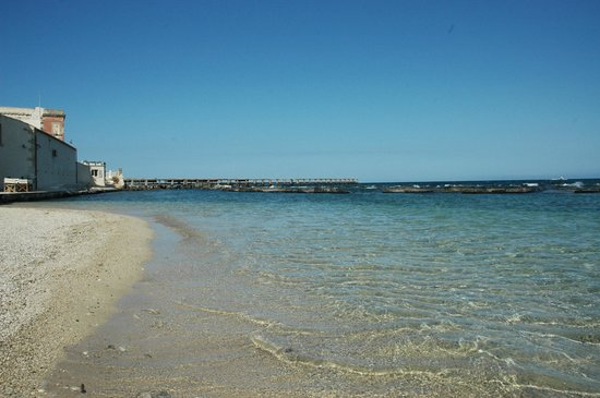 Musciara Siracusa Resort: Privatstrand