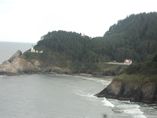 Florença, OR: View from just past Sea Lion Caves