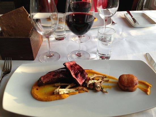 Toftaholm Herrgard Hotel: The dinner was really nice served