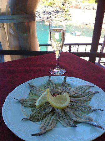 Monica Lercari Rooms : Al Castello Restaurant fresh and amazing food