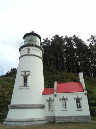 Florença, OR: Refurbished lighthouse