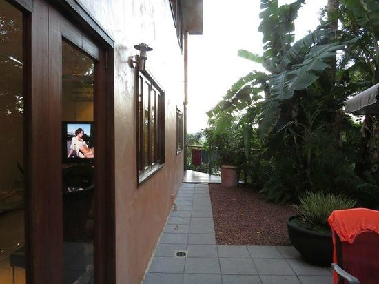 Bayview Heights, Australia: Entrance to Terrace Unit