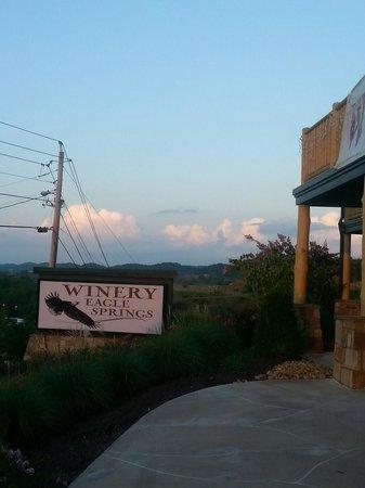 Quality Inn Interstate : Winery next door