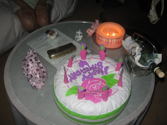 Castel Albertine: Geburtstag im Zimmer