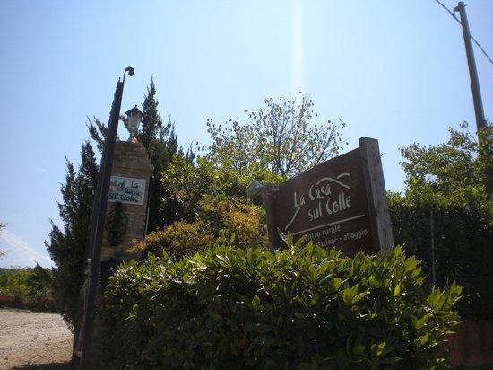 La Casa sul Colle: ingresso