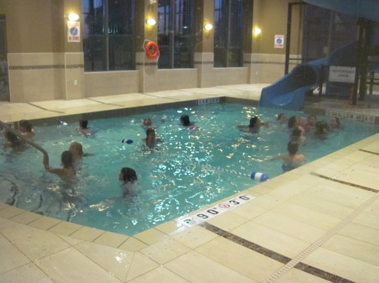 Holiday Inn Express Hotel & Suites Woodstock: small pool and slide
