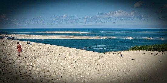 Domaine du Mayne: Strand van Arcachon