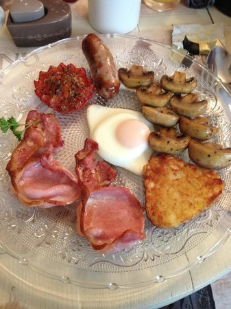 Brighton Marina House Hotel: English Breakfast