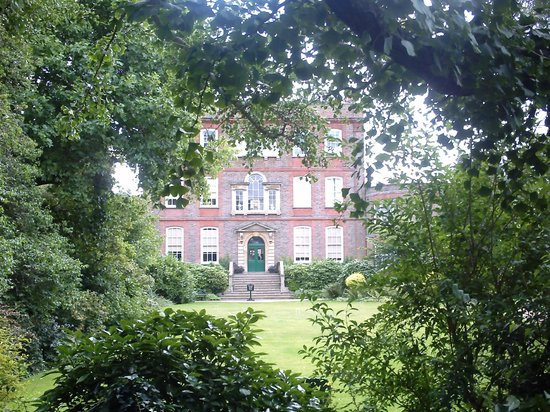 Peckover House: The House through the trees