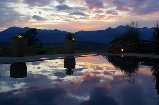 Sunset at Amangani
