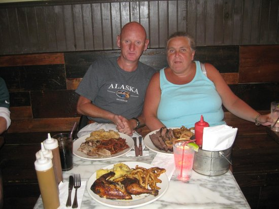our meal at theKhyber Pass pub