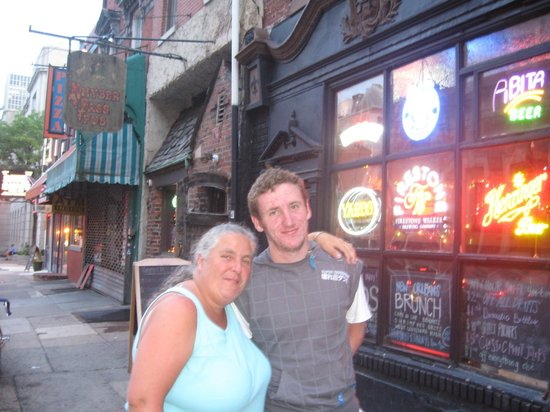 Khyber Pass Pub: outside the Kyber Pass pub