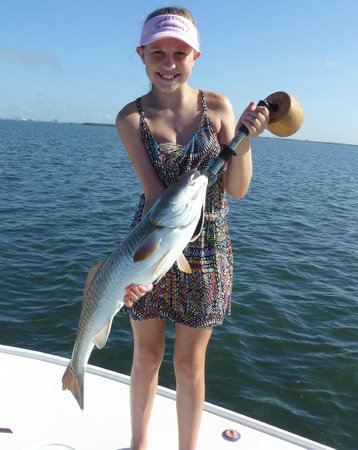 Too big to hold up picture of tampa fl fishing charters for Fishing charters tampa